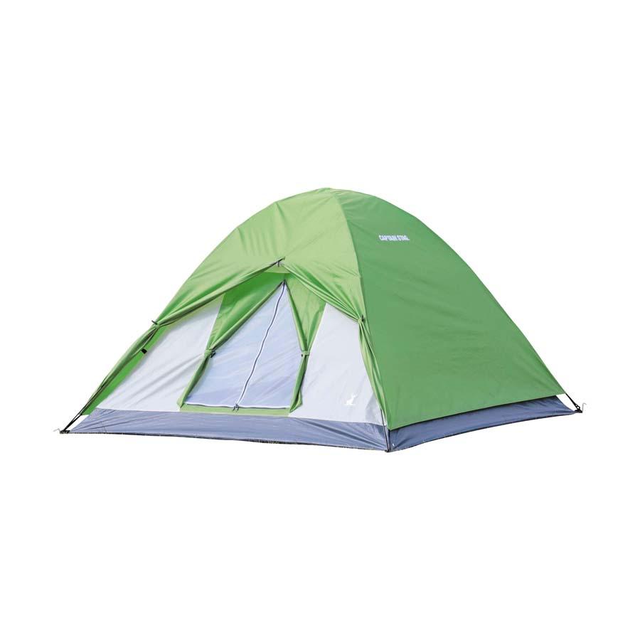 Capitano Stag Crescent 3 persone Tenda Cupola Tenda Igloo Tenda all'aperto Campeggio verde