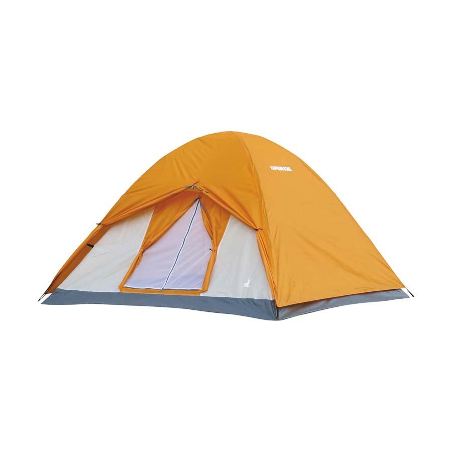 CAPTAIN STAG Crescent 3 Personen Zelt Kuppelzelt Igluzelt Outdoor Camping Orange
